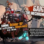 Gearbox Software анонсировала первое DLC — Mechromancer для Borderlands 2