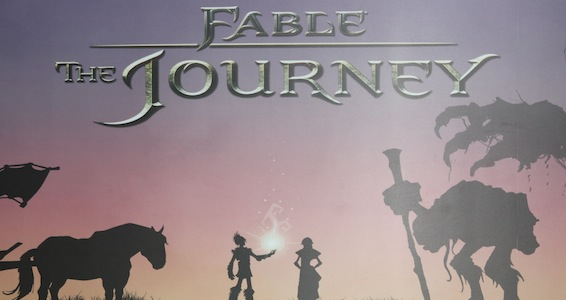 Заставка игры Fable The Journey